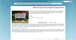Preview of mcdonoughhighways.net